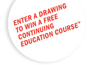 Enter a drawing to win a free continuing education course!