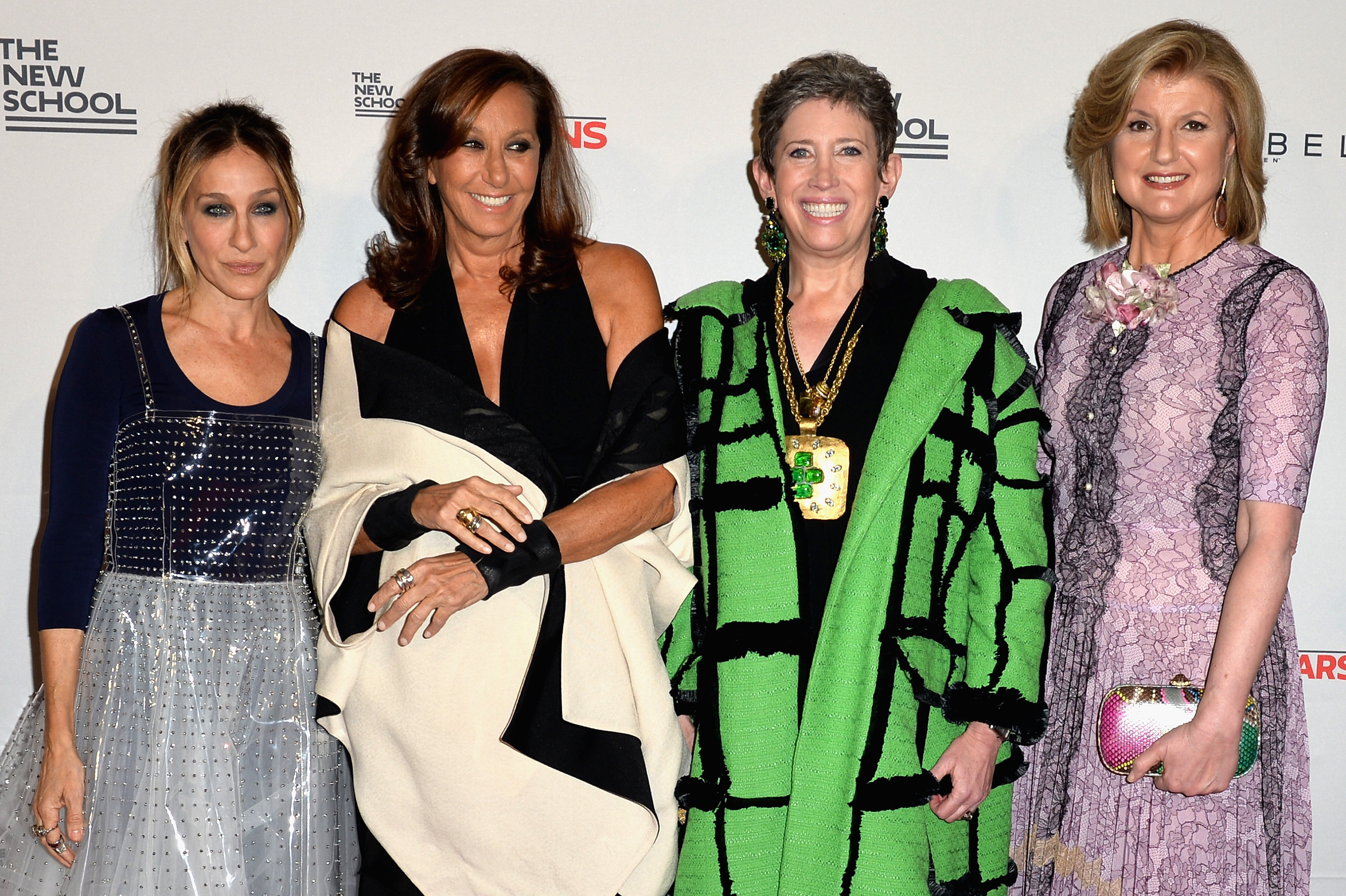 Parsons Benefit Honorees Sarah Jessica Parker Donna Karan Beth Rudin Dewoody And Arianna Huffington Photo Credit Getty Andrew Toth