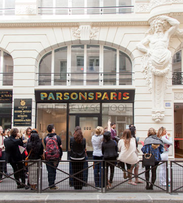 parsons paris celebrates opening of new campus | the new school