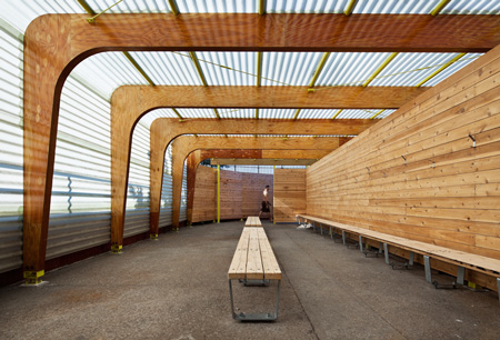 Parsons completes work on highbridge the new school news - Pavillon residentiel moderne gurney architecte ...