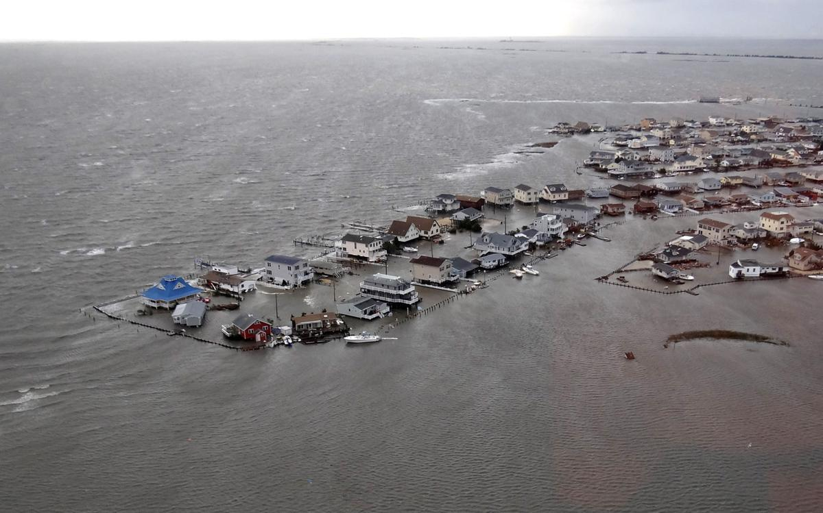 Before and after Cyclone sandy new york pictures